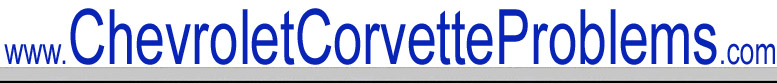 Chevrolet Corvette Problems